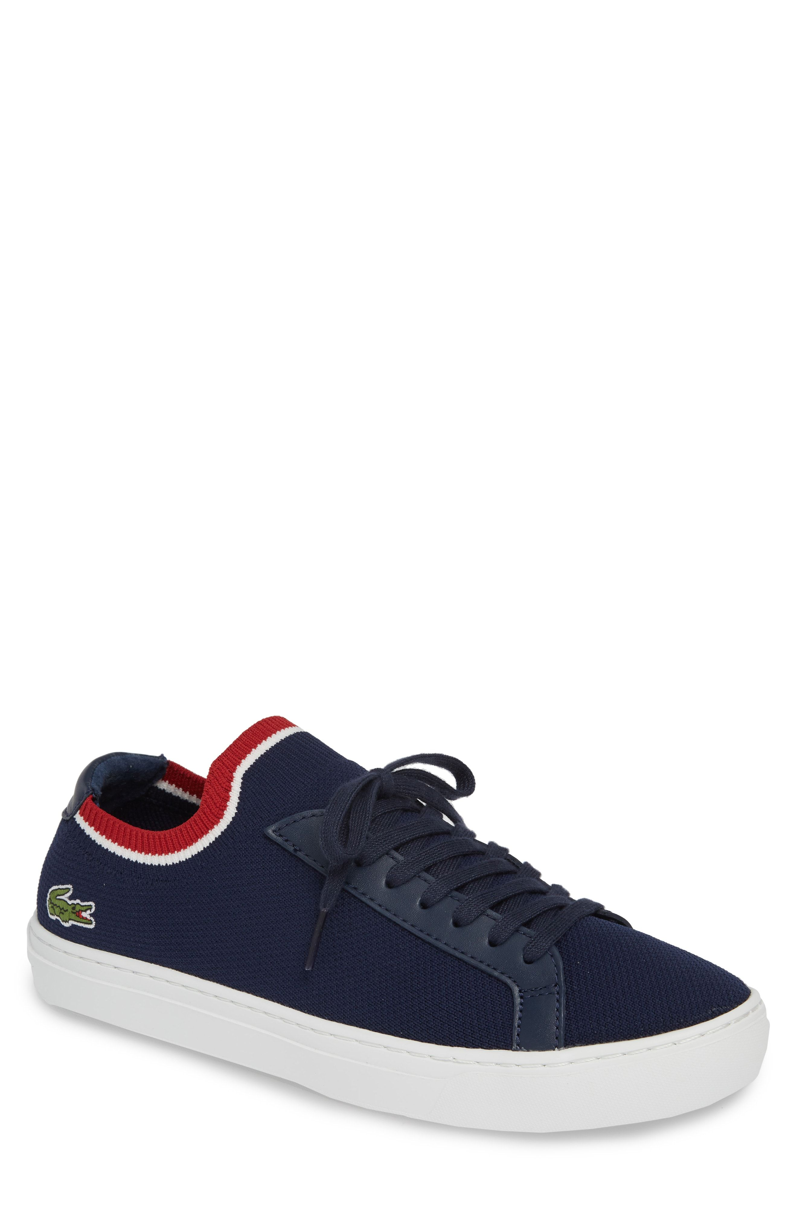 83efaa8c3 LACOSTE PIQUE KNIT SNEAKER.  lacoste  shoes