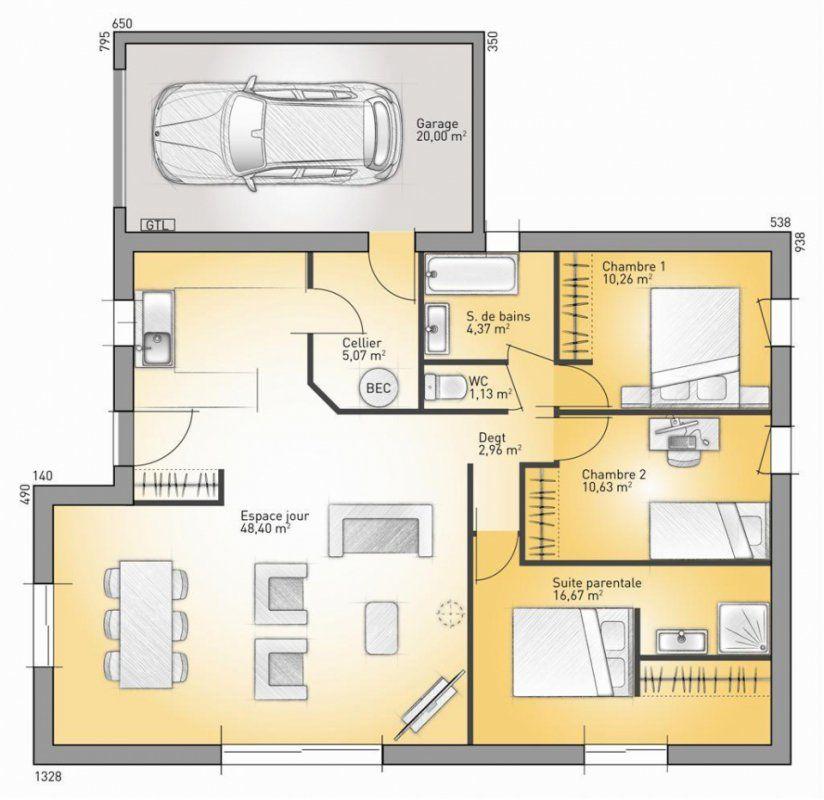Plan Maison Neuve  Construire  Maisons France Confort Concept