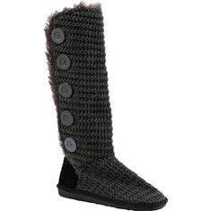 MUK LUKS Malena Crotchet Button Up Boot - Black with FREE Shipping & Returns. MUK LUKS has another version of the Malena and it's at your fingertips!