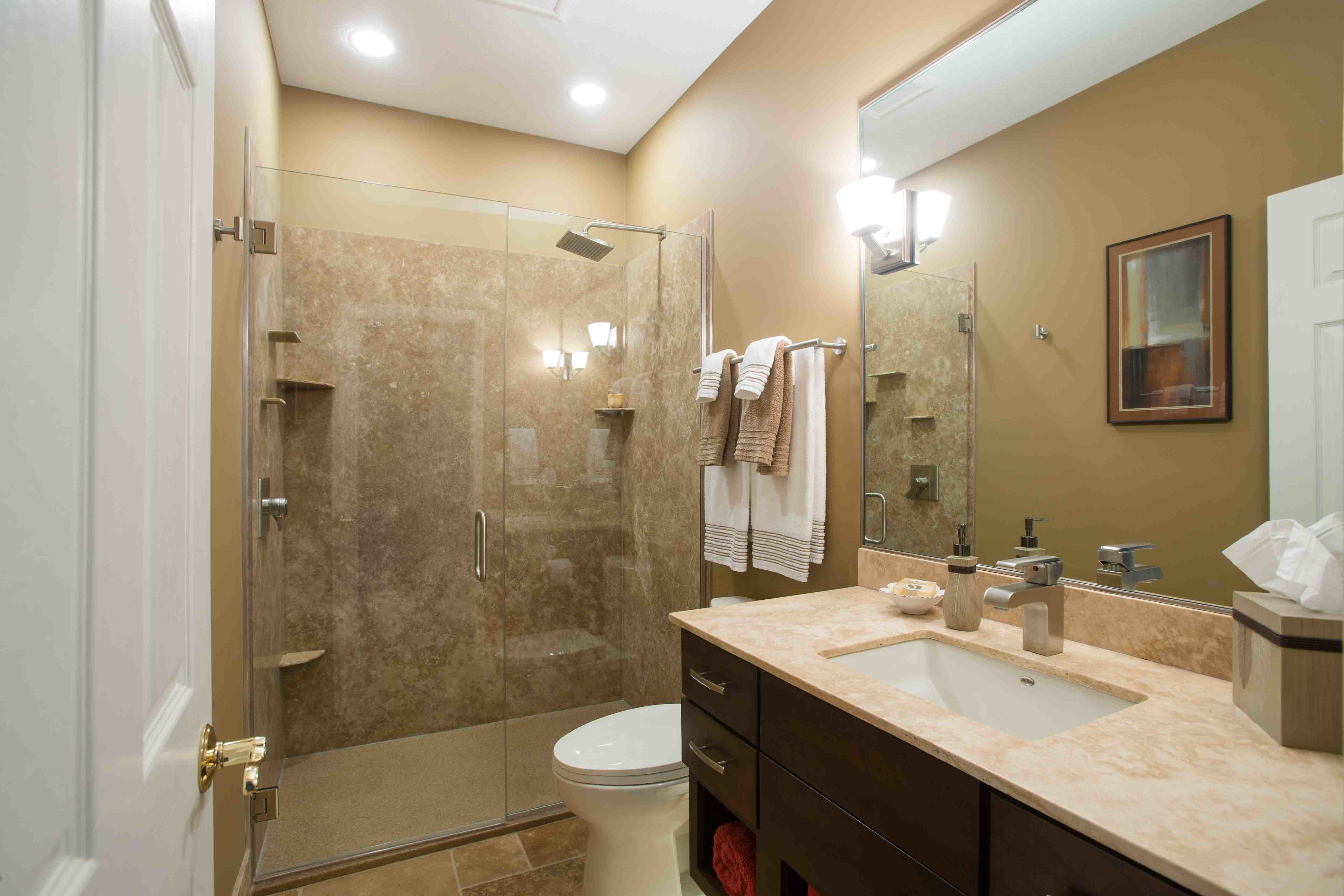 The Rejuvenated 5 X 9 Bathroom With Images Bathrooms Remodel