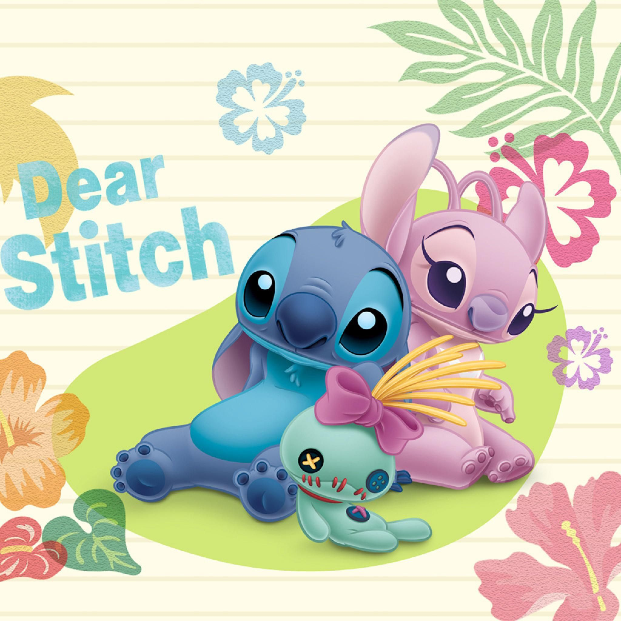 Stitch & his girl Disney characters stitch, Lilo and stitch