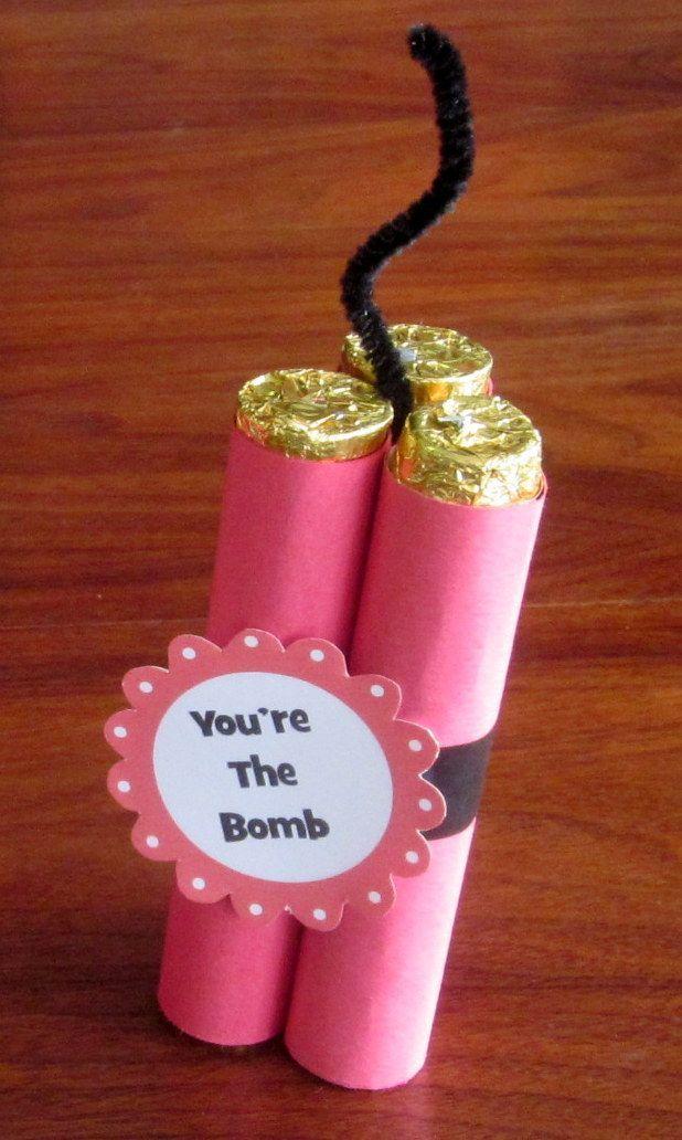 Candy Gift Ideas Knutselen Valentines Homemade Valentines En