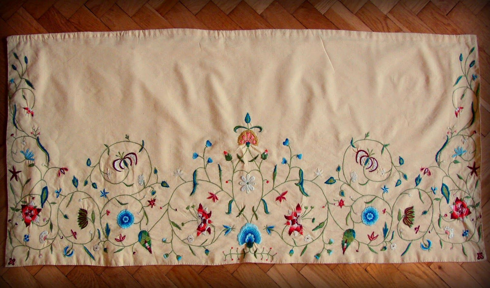 18th century apron based on http://collections.lacma.org/node/242445