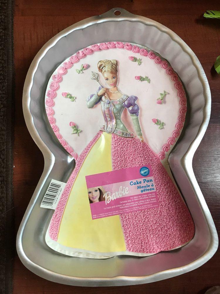 Barbie princess wilton cake pan from 2000used with