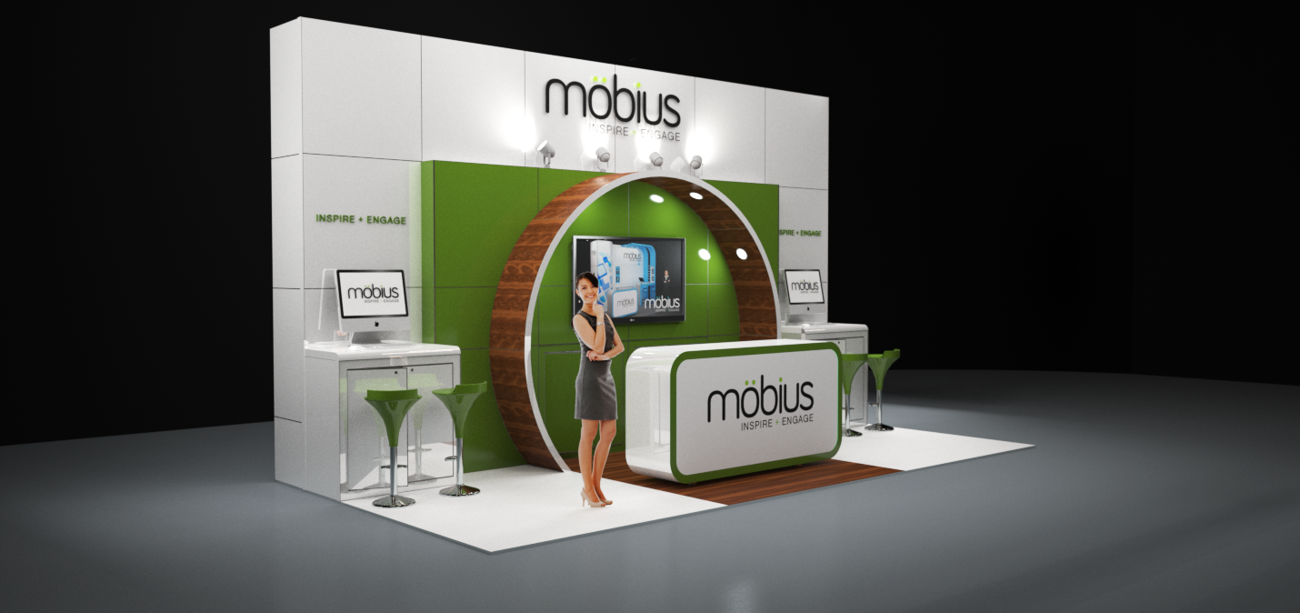 Corner Exhibition Stands Price : Image möbius m modular exhibition stand without the custom