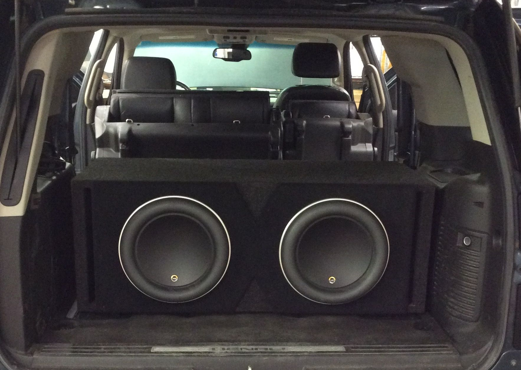 Do you need a unique custom-made subwoofer enclosure to fit ... | hummer h2 subwoofer box