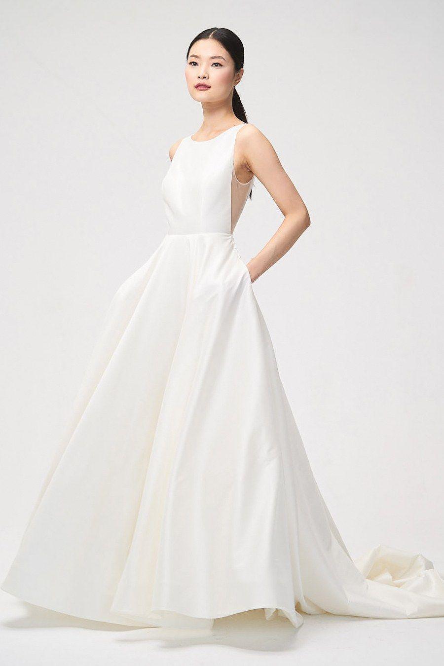 Jenny by Jenny Yoo Fall 2018   Wedding dress with a mesh side cutout ...