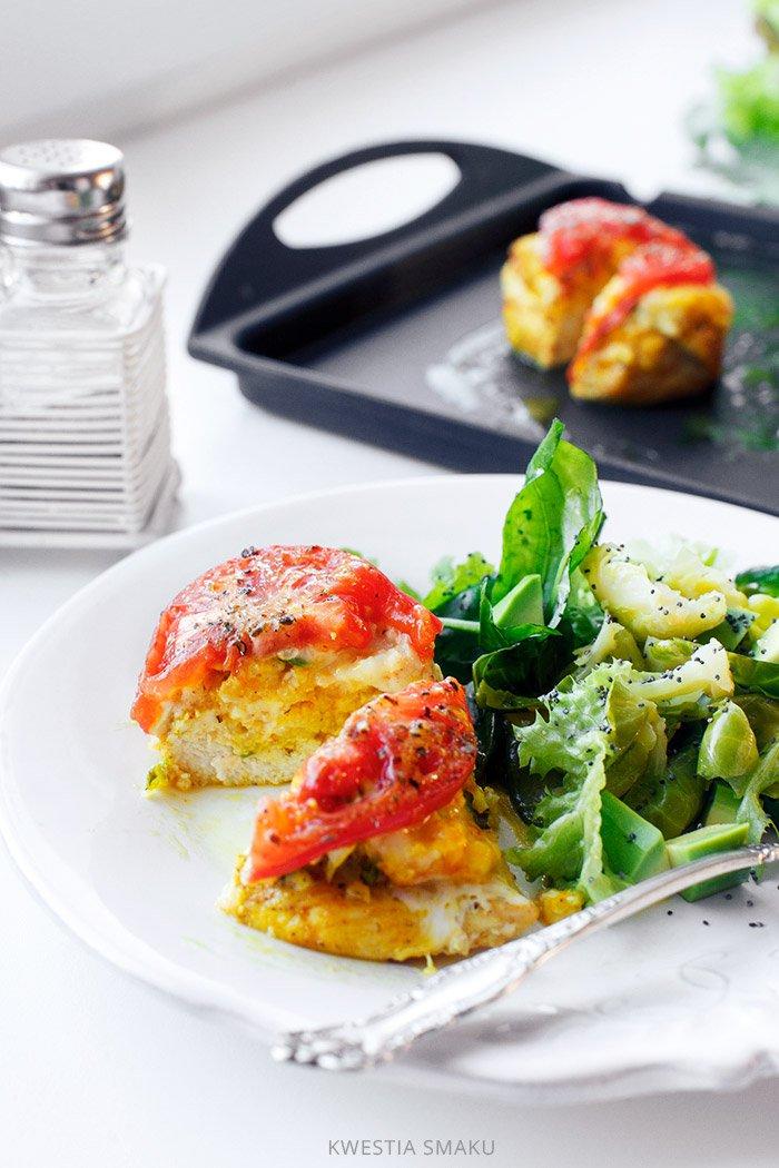 Sakiewki Z Kurczaka Z Kasza Jaglana I Pomidorami Kwestia Smaku Healthy Chicken Dinner Workout Food Chicken Dinner