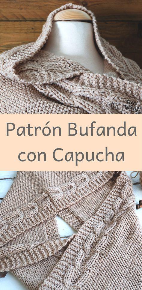 Lujo Patrón De Tejer Bufanda Rápida Molde - Ideas de Patrón de Tejer ...