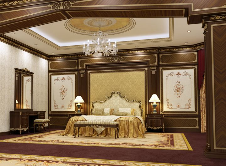 Classic Master Bedroom By Osama Elsousy