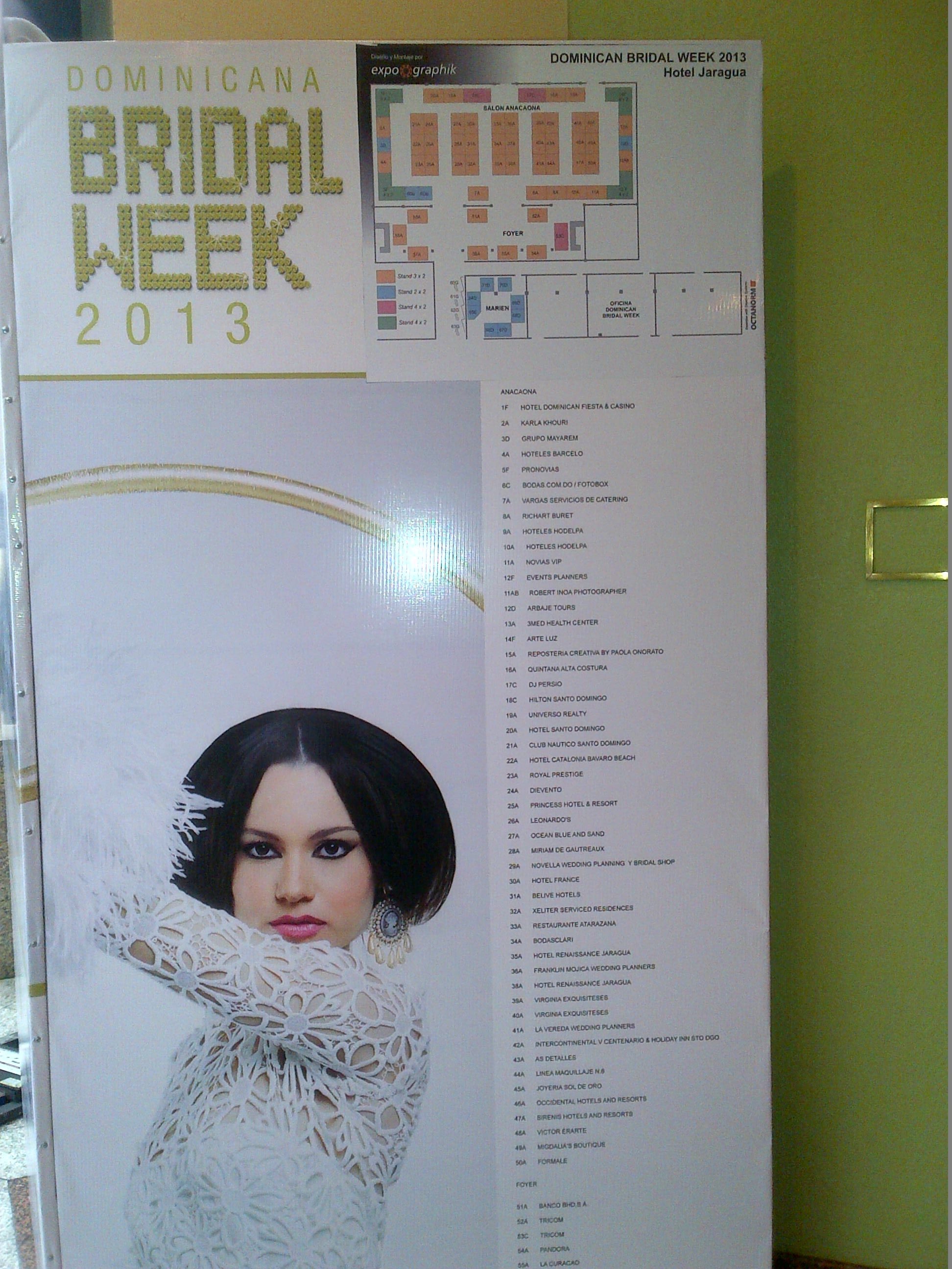 Entrada Dominicana Bridal Week 2013