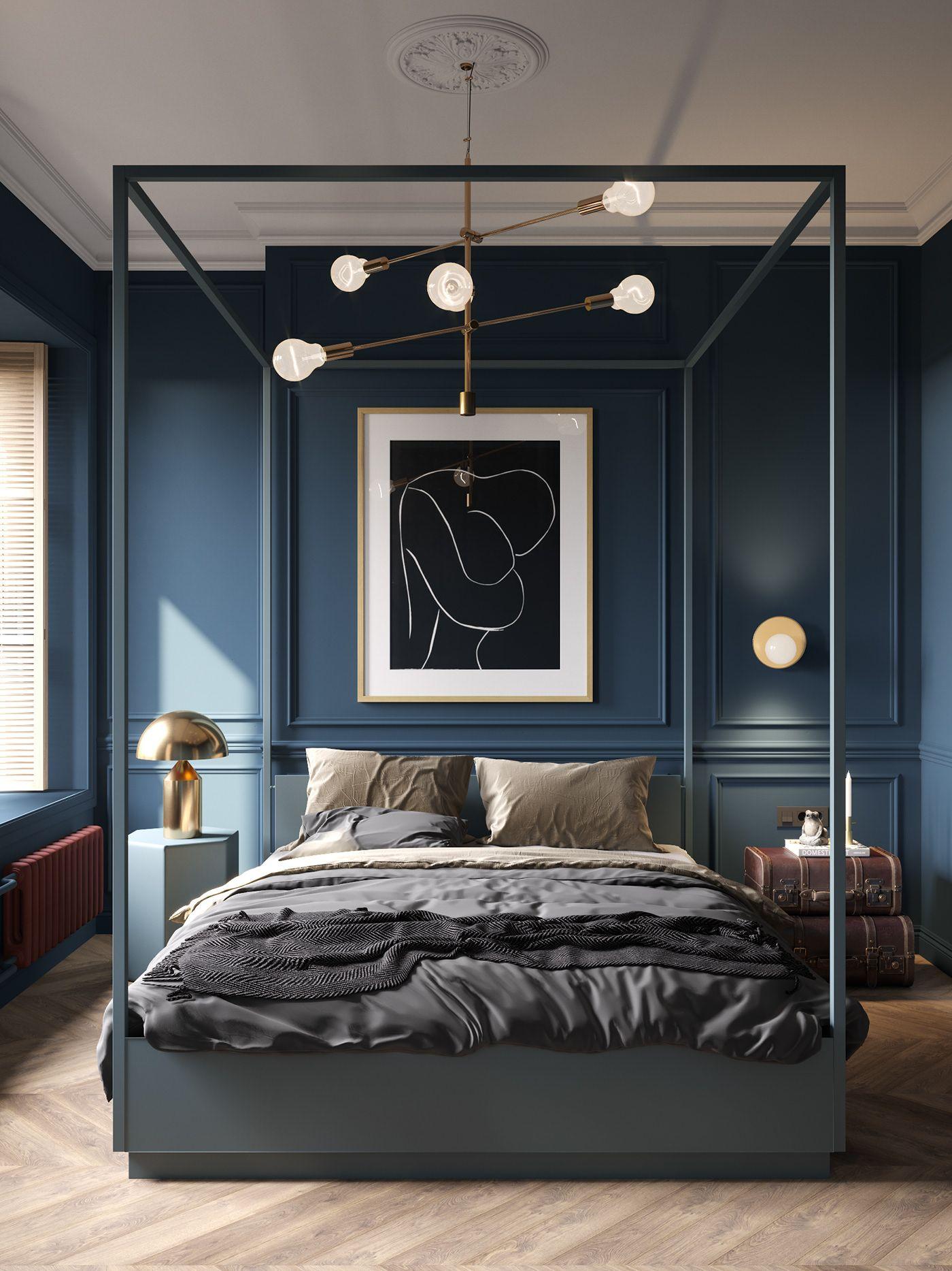 Un appartement classique chic par Cartelle Design - PLANETE DECO a