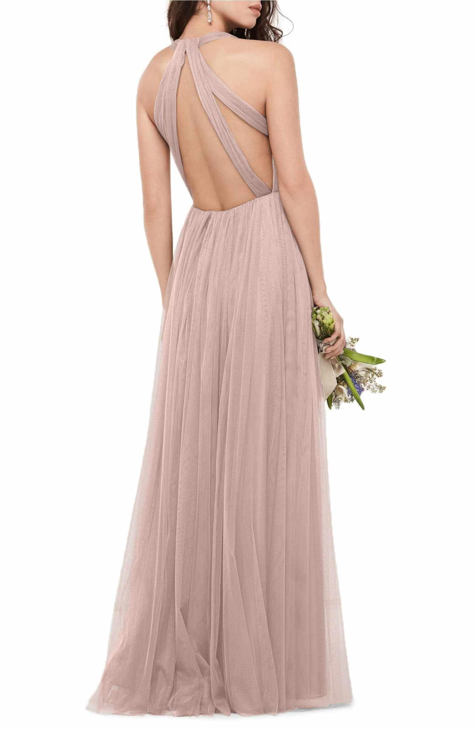 Main Image - WTOO Bobbinet Halter Gown | Wedding | Pinterest
