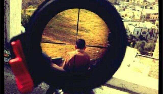 Instagram photo of Palestinian boy caught in IDF soldier's crosshairs