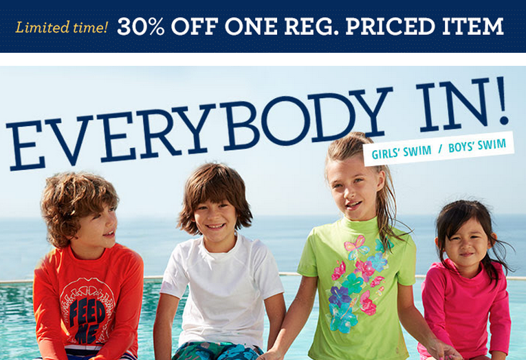 Lands End: Save 30% on (1) Regular Price Item, Limited Time Only!