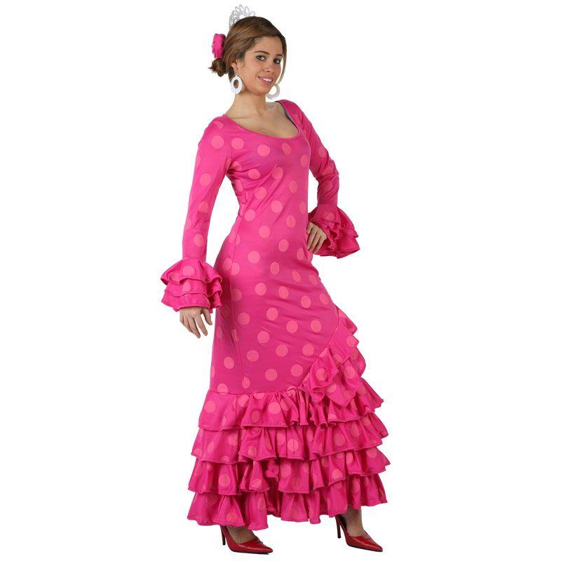Excelente relación calidad precio en este disfraz de flamenca ...