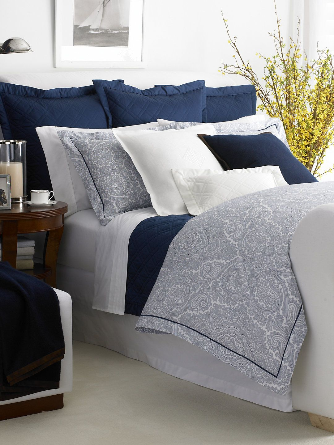 I Would Use Ivory Grey Or Butter Cream Isntead Of White Navy