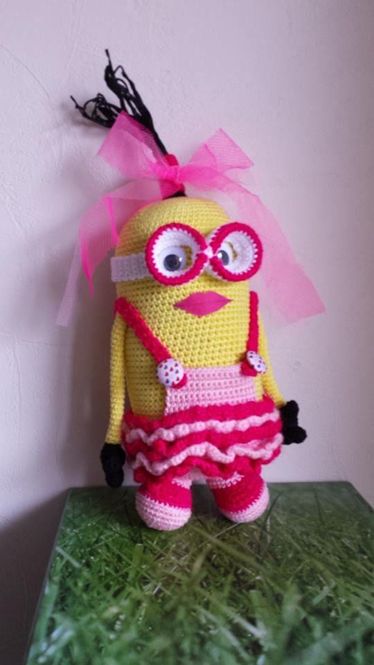 voorbeeld/maakster Carla de Vries | minions | Pinterest | Barbie ...