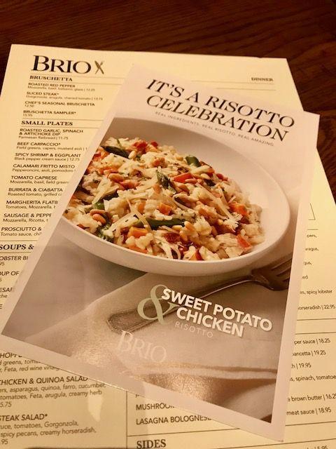 Brio Tuscan Grille It S A Risotto Celebration Orlando