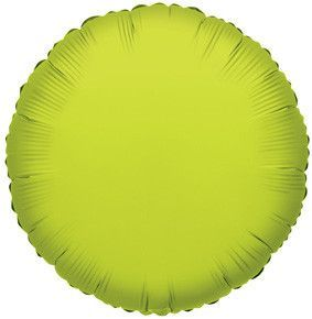 Lime Round Balloons