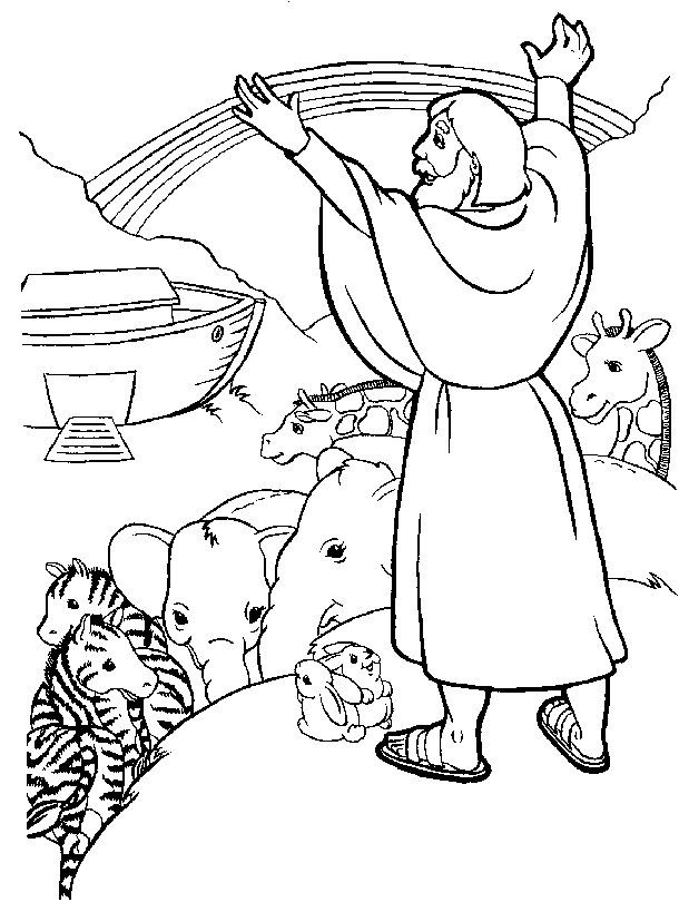 noah-s-ark-printable-coloring- | Coloring pages | Pinterest | Sunday ...