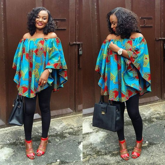 cda50dc6a982a Beautiful Maternity Ankara Gowns For Pregnant Women | truly African ...