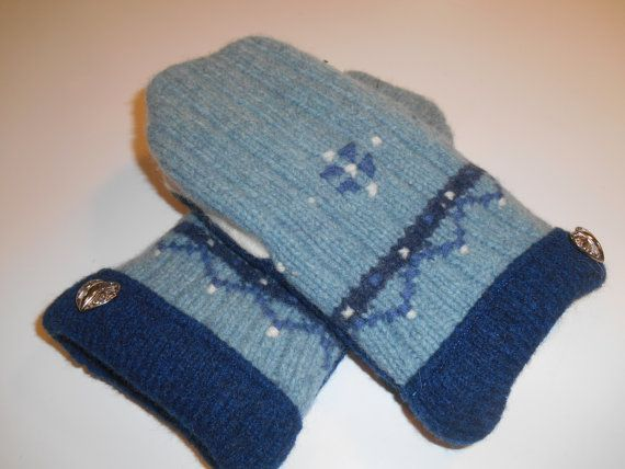 MMC0543 Rochester Wool Mittens  med/lg by MichMittensbyLauri, $23.00
