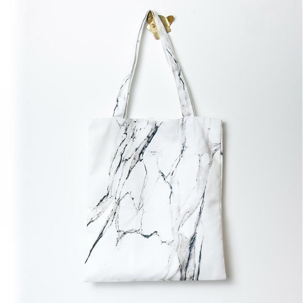 White Marble Tote Bag (With images) | Tote bag, Bags, Tote