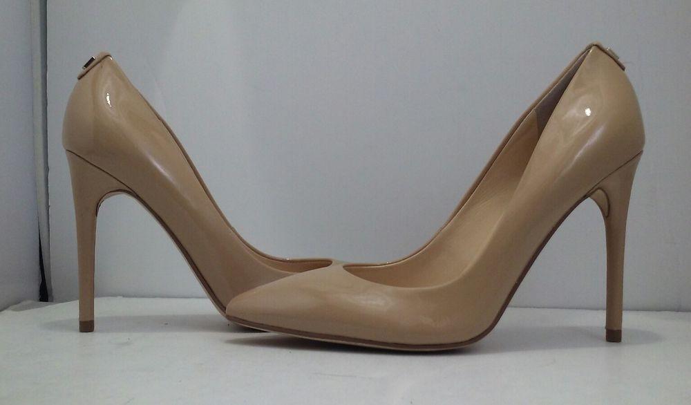 d1c26970fda Ivanka Trump Kayden 4 Nude Patent Leather Women's High Heels Pumps ...