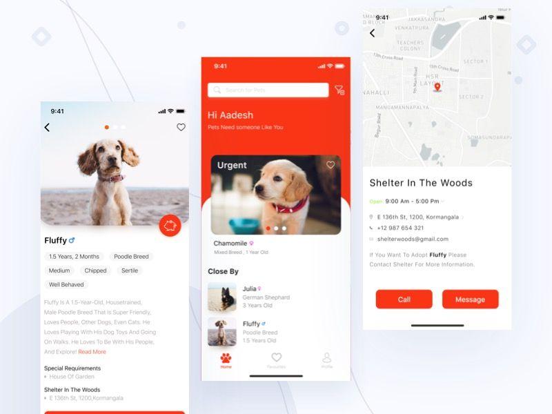 Pets Adoption App