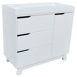 Babyletto Hudson Changing Table In White Ping S On