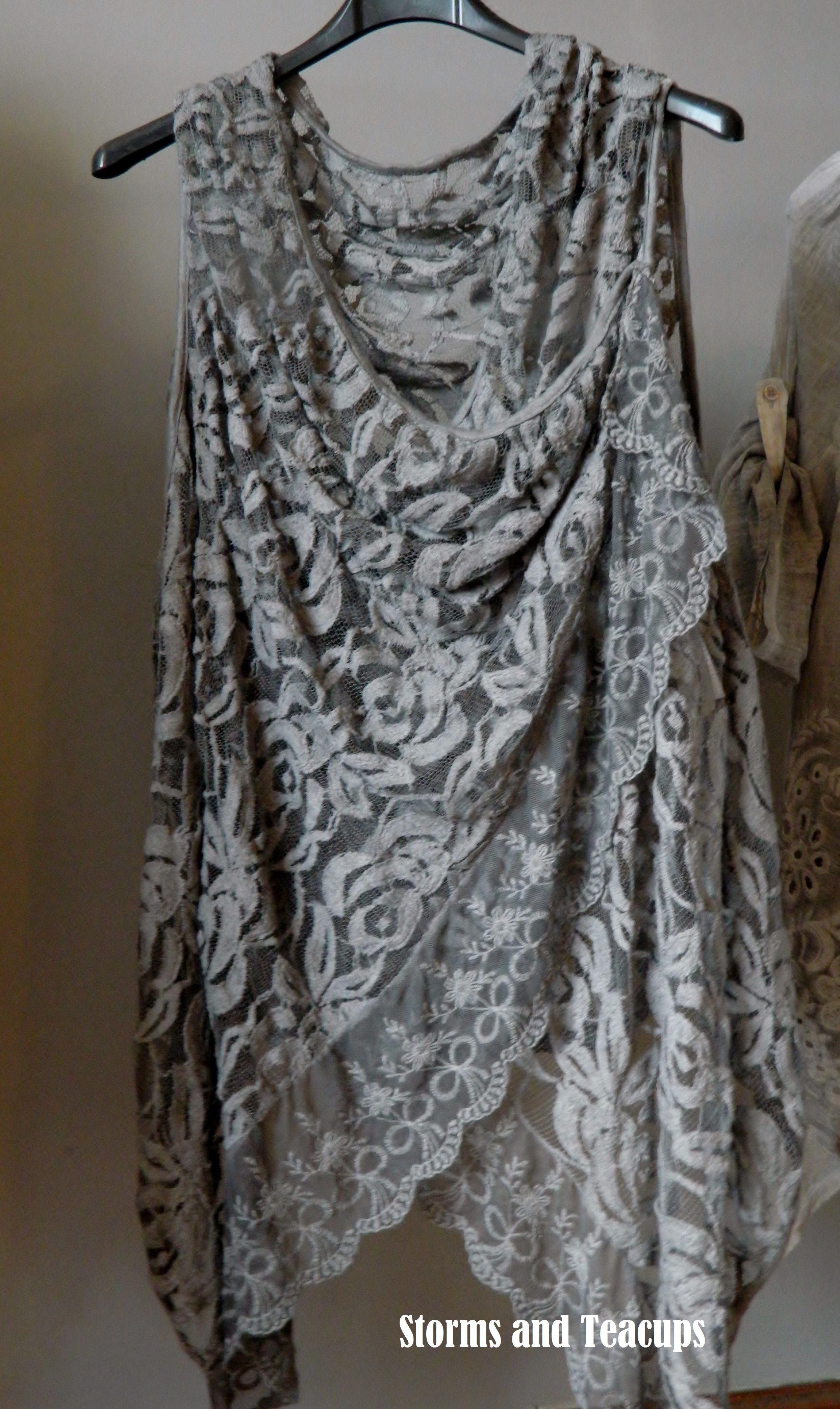 gorgeous lagenlook waistcoat