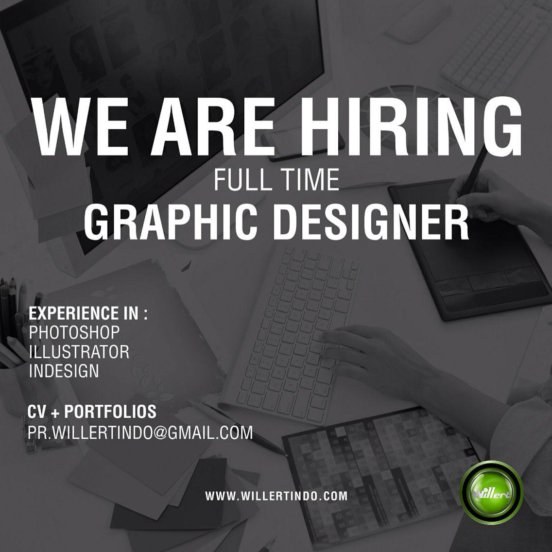Repost Willertindo With Repostapp Willertindo Digital Marketing Agency Full Time Graphic Design Vacancy Requirements Maximum Age 29 Years Old Desain