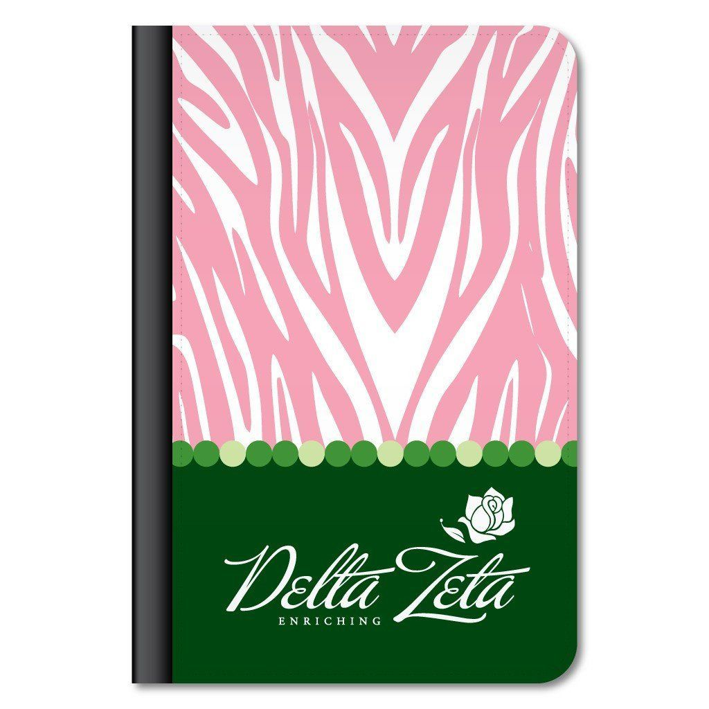 Delta Zeta iPad Mini Protective Case - Zebra Print
