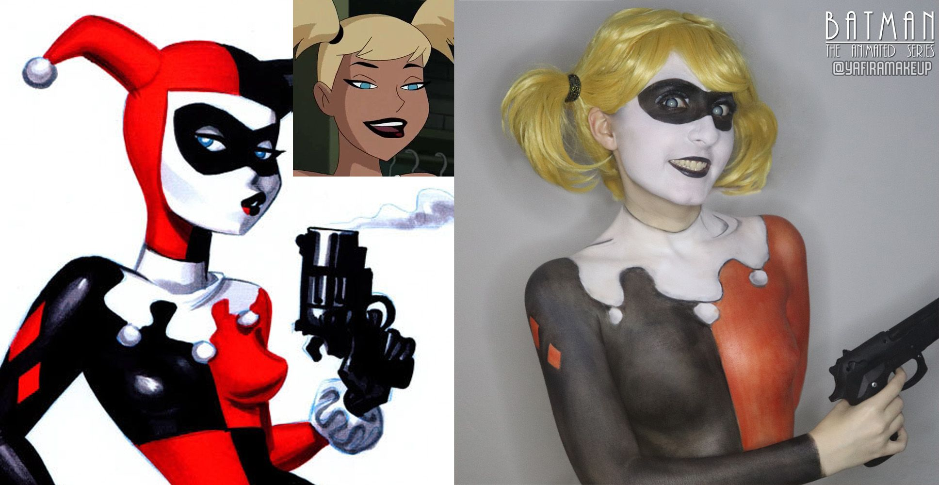 Harley Quinn Body Paint http://geekxgirls.com/article.php