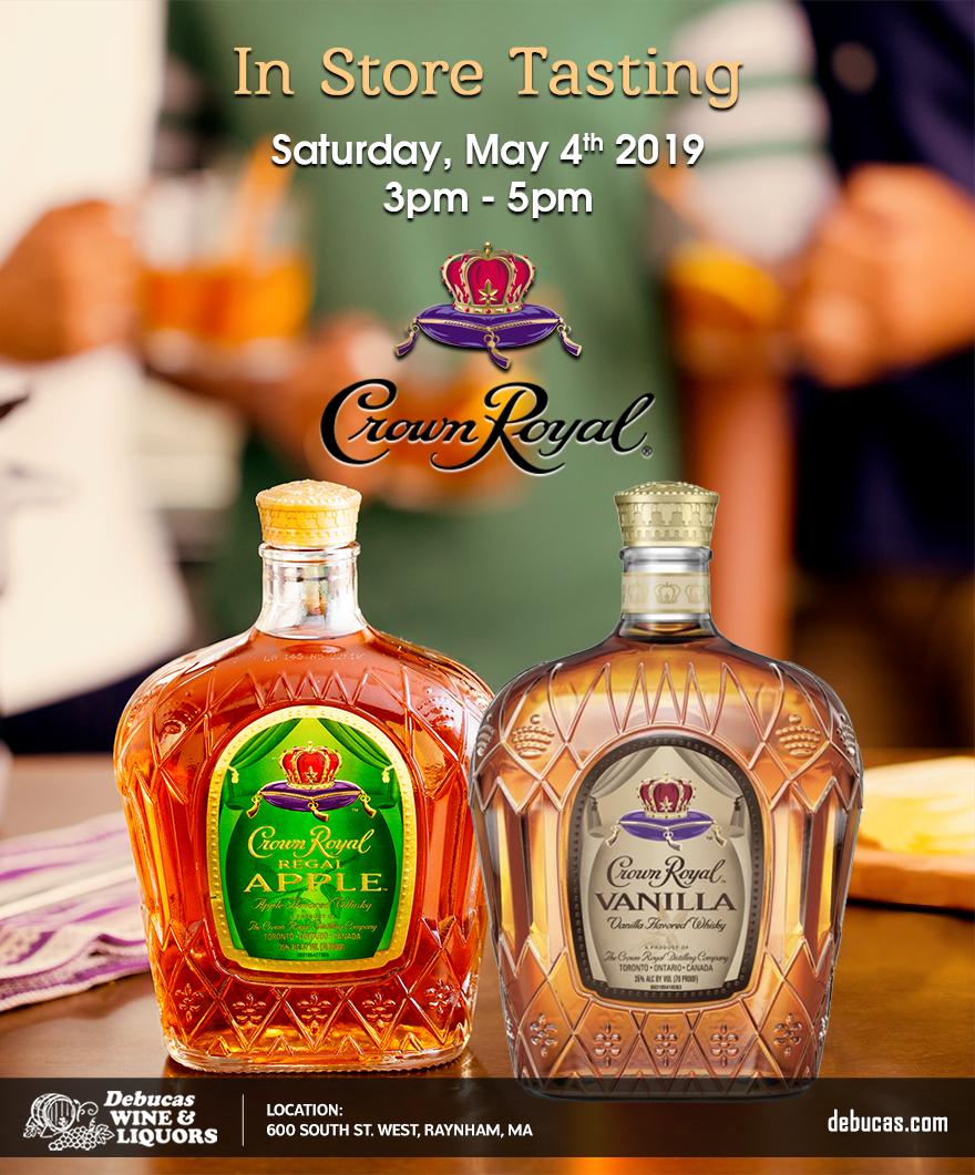 In Tasting Crown Royal Whisky