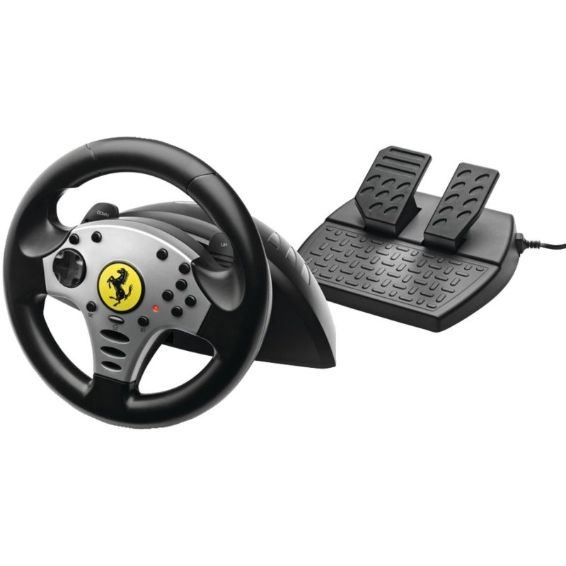 Thrustmaster Challenge, Wired Racing Wheel, for PC/PlayStation 3, Black