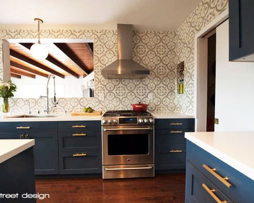 don jose kitchen renovation for the home pinterest kitchens rh za pinterest com navy blue kitchen cabinets ikea