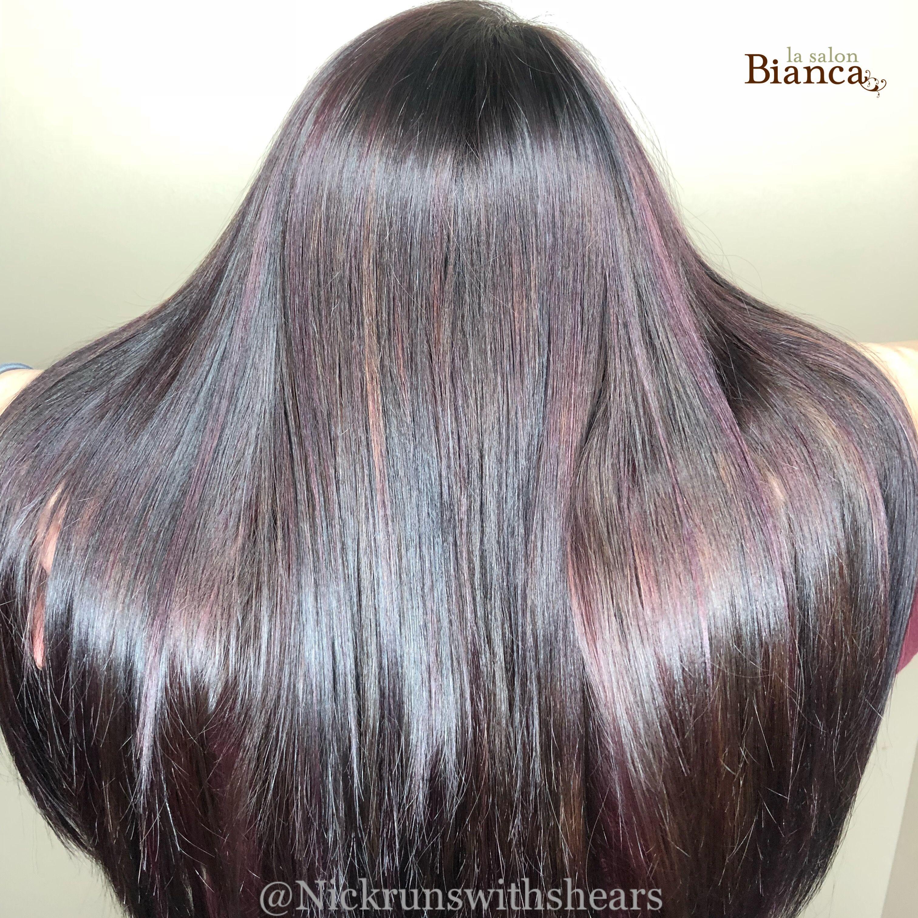 Violet Fall Dimension Hair Makeup Hair Salon Hair
