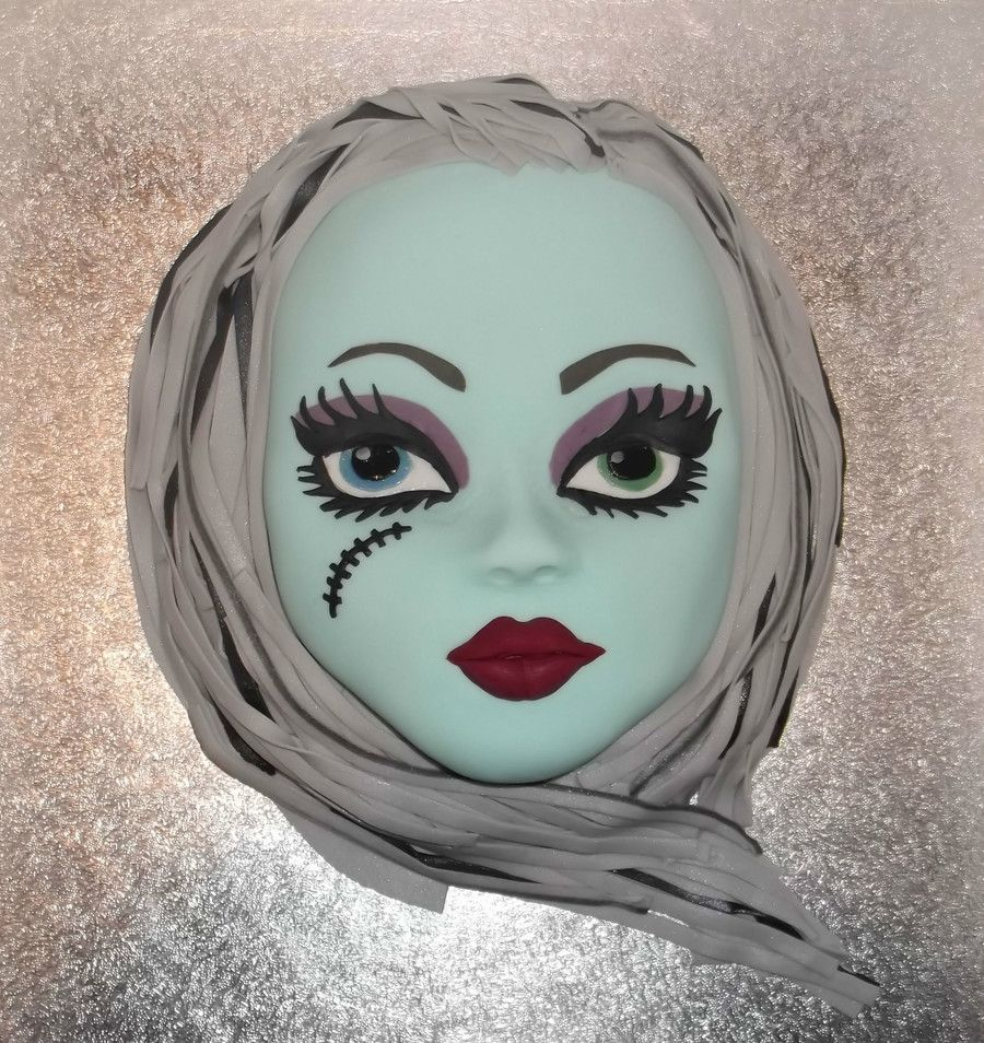 Monster High - Frankie Stein | cake ideas | Pinterest