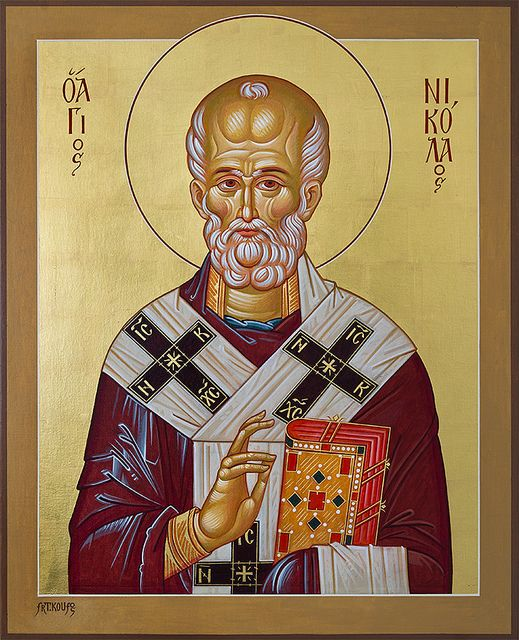 St. Nicholas by wanderingval, via Flickr