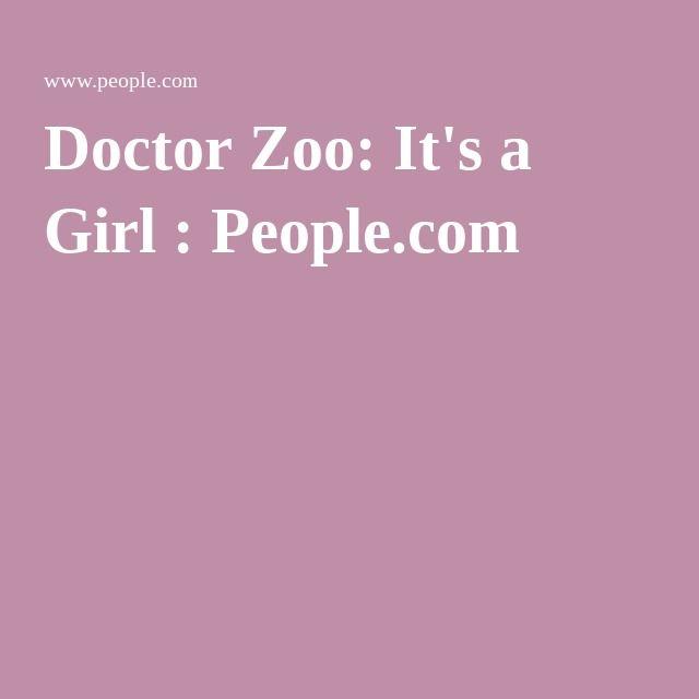 Doctor Zoo: It's a Girl : People.com