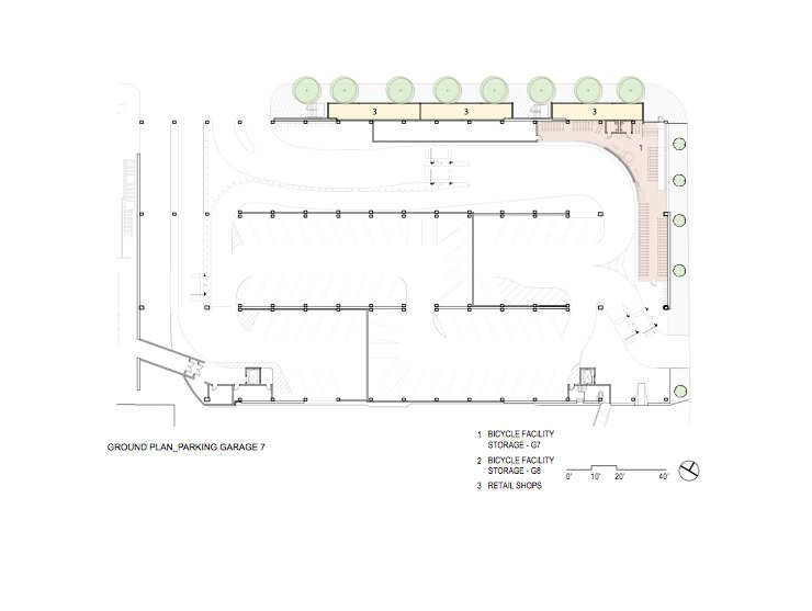 Santa Monica Parking Garages Brooks Scarpa Garage Floor Plans Floor Plans Shed Floor Plans