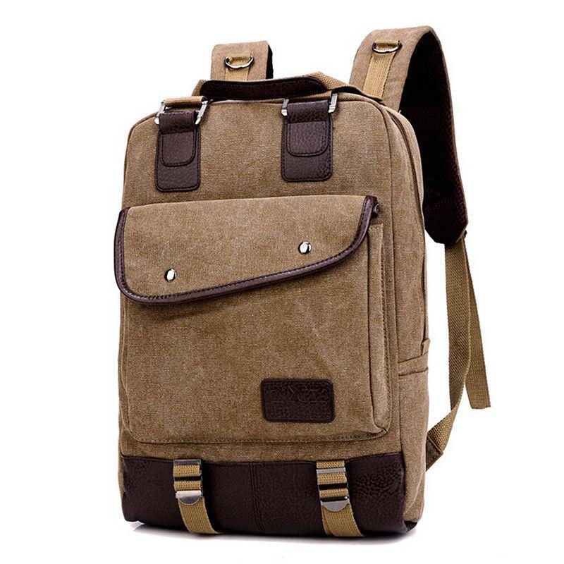 Color : Color Black Fishagelo Men PU Leather Business Retro Fashion Casual Handbag