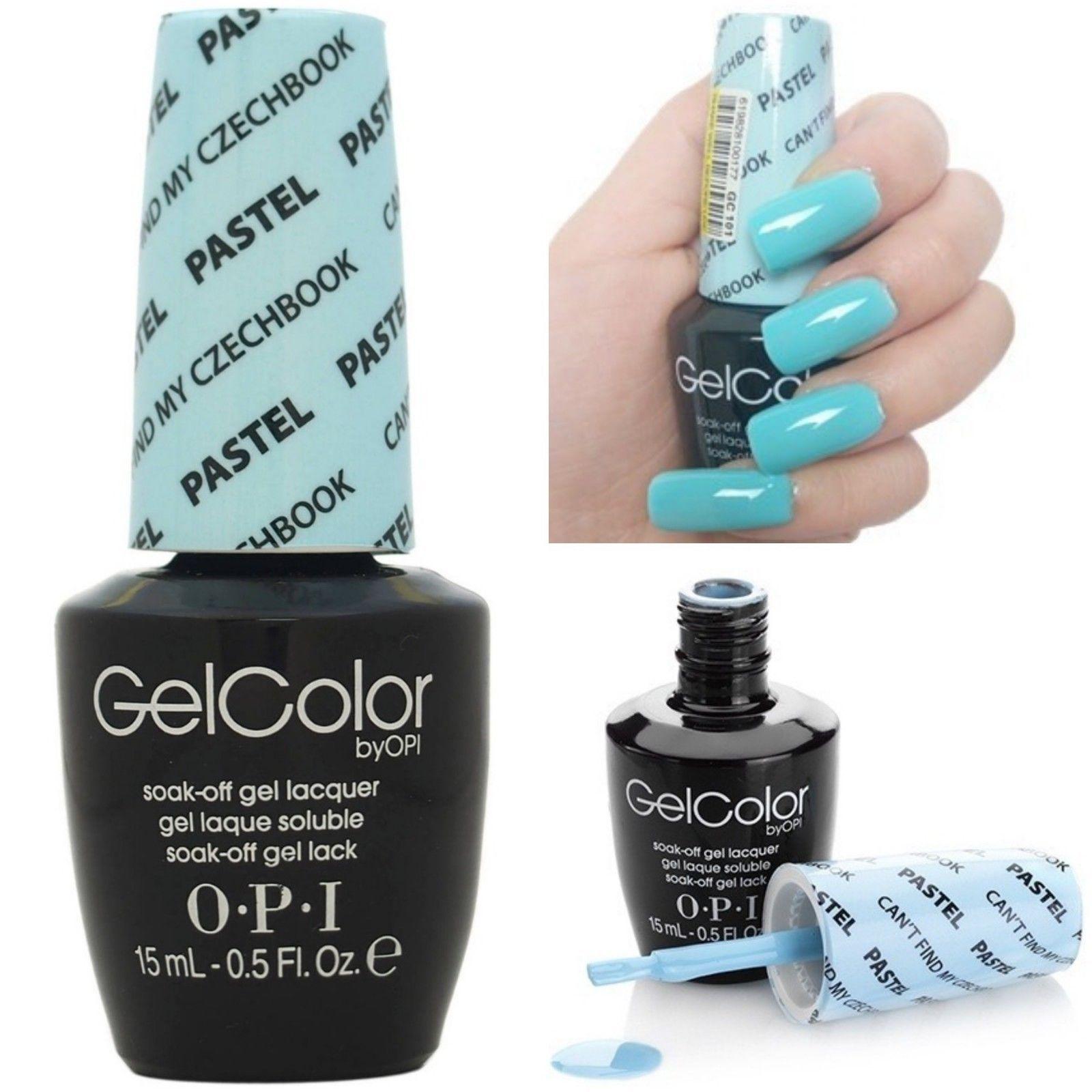 New Opi Gelcolor Soak Off Uv Led Gel Nail Polish 100 Authentic 0 5oz You Choose Nail Polish Gel Nail Colors Gel Nail Polish