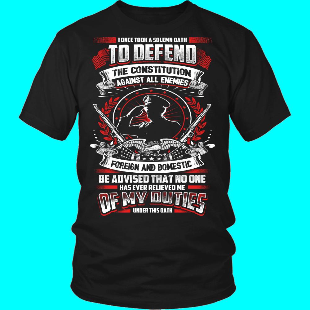 My Duties Shirt designs, Military shirts, Shirts