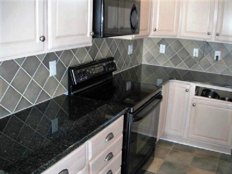 Black Emerald Marble Granite Countertop Self Adhesive Vinyl Film Ezfaux Decor Llc In 2020 Backsplash For White Cabinets Kitchen Design Kitchen Counter Design