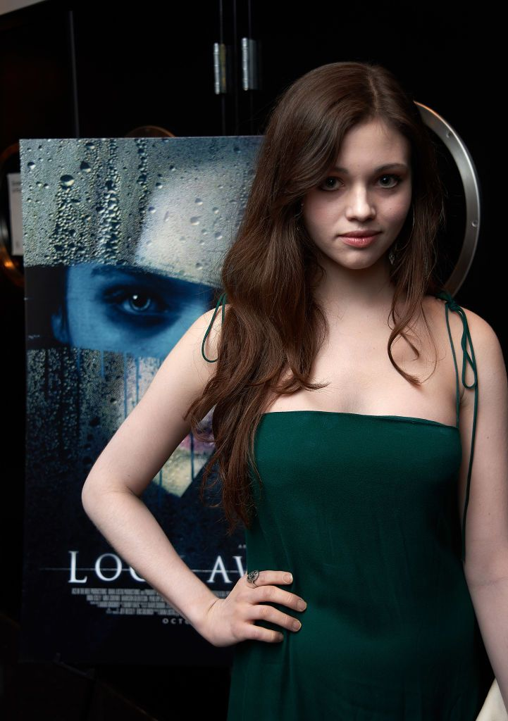 Actress India Eisley attends Screening Of Vertical ...
