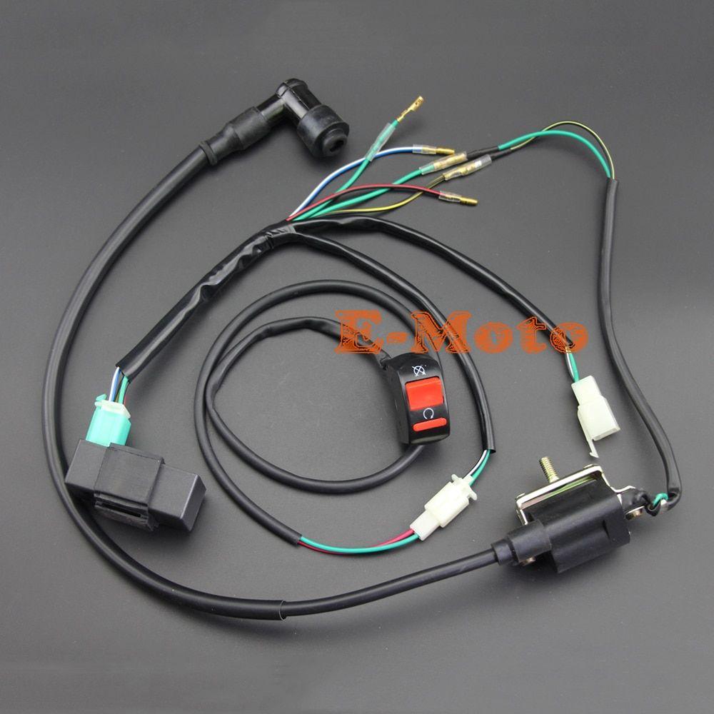 110 Cc Wire Harness Diagram In 2020