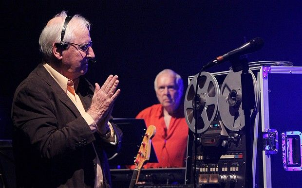 Sexagenarian space-rockers: the Radiophonic Workshop perform at the ShowRoom, Chichester University April 2014 - click through for review.